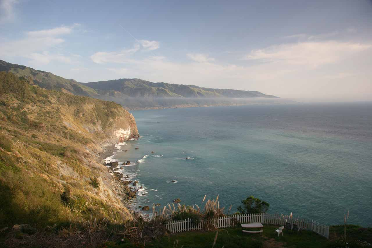Near Limekiln State Park is Lucia and the gorgeous coastline near this hamlet