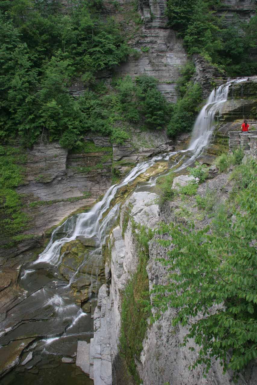 Lucifer Falls in Robert H. Treman State Park