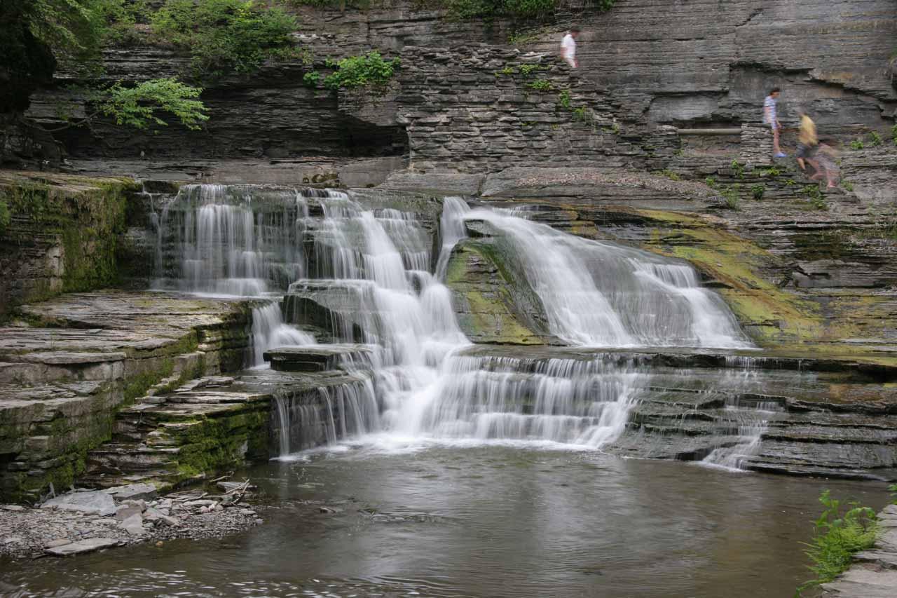 A small cascade seen en route to Lucifer Falls