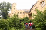 Ludwigs_Castles_041_06242018 - Walking up to the Schloss Hohenschwangau so we can do the morning part of our pre-booked tour of it