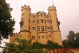 Ludwigs_Castles_116_06252018 - After our Hohenschwangau Castle Tour, we got this look back at the attractive castle from its garden
