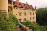Ludwigs_Castles_136_06252018 - Descending back down the steps to leave the Schloss Hohenschwangau and start the long ascent for the Schloss Neuschwanstein