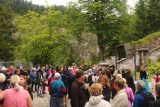 Ludwigs_Castles_209_06252018 - At the crowded waiting area as we were waiting to get past the turnstiles when our time came to tour the Neuschwanstein Castle
