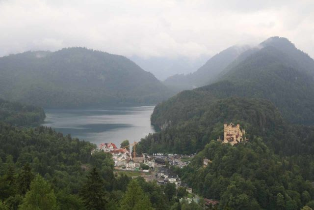 Ludwigs_Castles_228_06252018 - Further to the east of the Hinanger Waterfall were the famous castles of Ludwig II featuring both Hohenschwangau (shown here) and Neuschwanstein