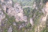 Ludwigs_Castles_254_06252018 - Context of the Marienbrucke with the Poellat Gorge Waterfall barely visible from the west balcony of Neuschwanstein Castle