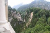 Ludwigs_Castles_257_06252018 - Context of the balcony view towards the Marienbrucke and Poellat Gorge Waterfall from the Neuschwanstein Castle