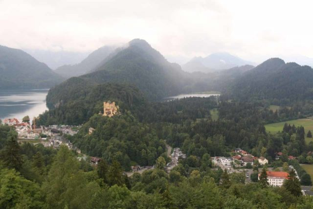 Ludwigs_Castles_272_06252018 - Further to the east of the Hinanger Waterfall were the famous castles of Ludwig II featuring both Hohenschwangau (shown here) and Neuschwanstein