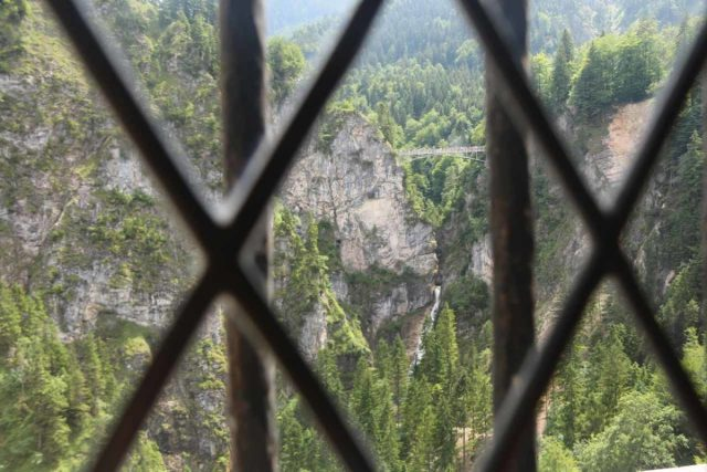 Ludwigs_Castles_304_06252018 - Looking through a window in a non-photo-restricted corridor of Neuschwanstein Castle