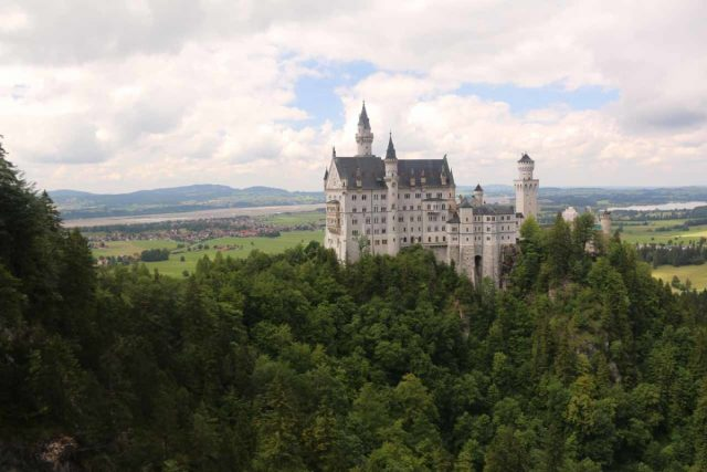 Ludwigs_Castles_409_06252018 - The other of Ludwig II's famous Bavarian castles was the Neuschwanstein Castle, which was the very inspiration of the ubiquitous Disney castles you see in the popular fairytales