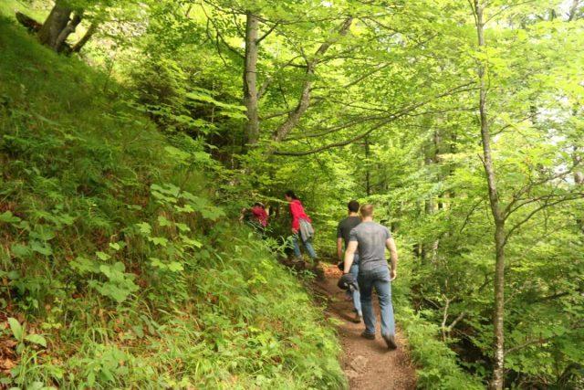 Ludwigs_Castles_414_06252018 - Hiking beyond the Marienbrucke towards alternate views of the Neuschwanstein Castle