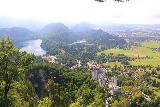 Ludwigs_Castles_432_06252018 - This was as high up as I was willing to go in order to experience this panorama of both the Hohenschwangau and Neuschwanstein Castles along with the lakes and the valley in the background