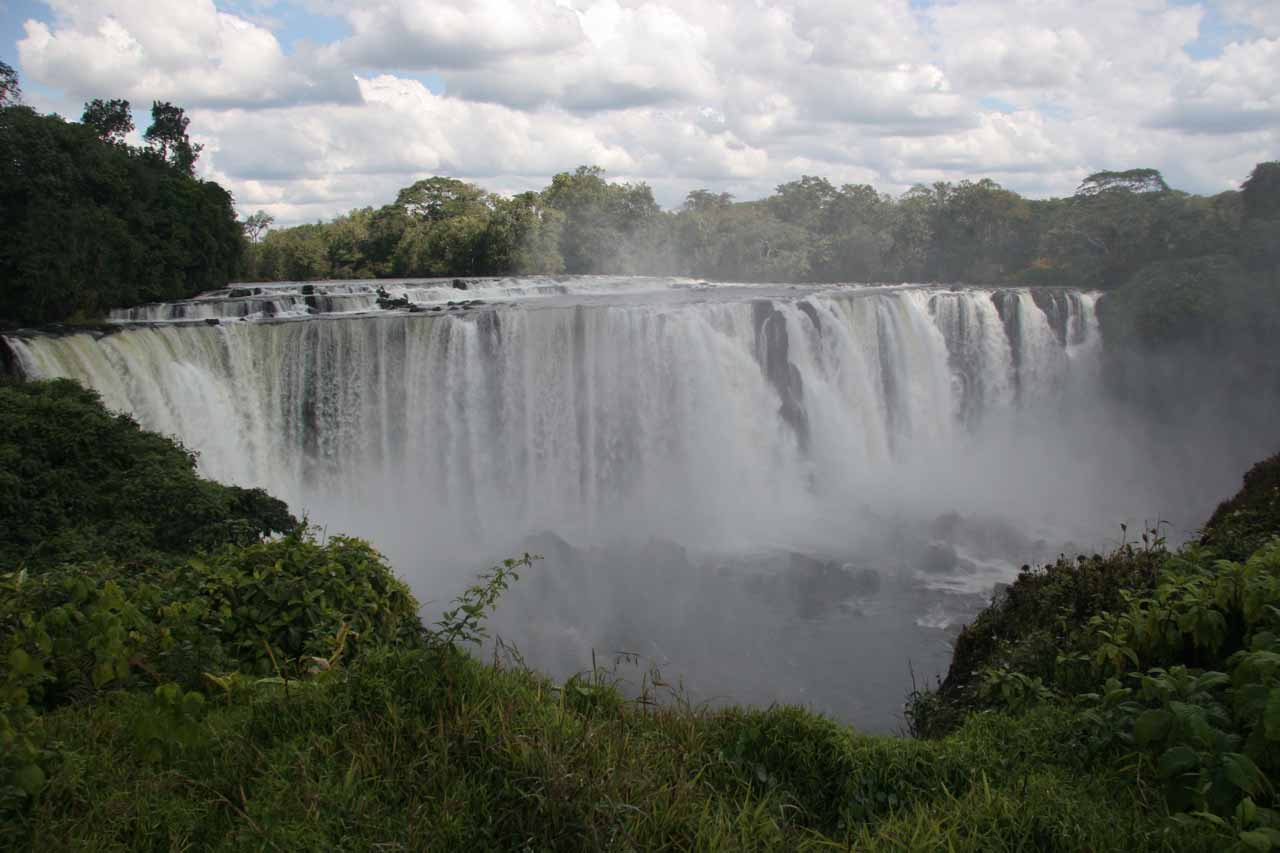 A Zambia Waterfall
