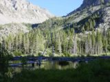 Lundy_Canyon_012_07052002 - Looking across an attractive pond somewhere near the second major Lundy Canyon Waterfall