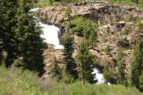 Lundy_Canyon_411_07112016 - Zoomed in on the waterfall tiers that I believe to be the fourth waterfall on Mill Creek