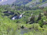 Lundy_Falls_001_07052002 - The first major Lundy Canyon Waterfall we encountered in July 2002