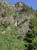 Lundy_Falls_021_07052002 - Same cascade we saw tumbling down a north-facing canyon wall in Lundy Canyon as the prior photo