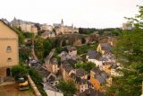 Luxembourg_019_06192018 - Looking down towards the 'sunken' part of the Old Luxembourg City as we were making our way to the Chemin de la Corniche as well as Le Grund