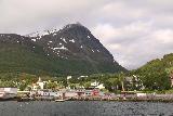 Lyngen_Alps_048_07042019 - Looking back in the direction of Lyngseidet while on the ferry across Lyngen Channel