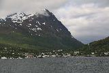 Lyngen_Alps_072_07042019 - More distant and contextual look back at Lyngseidet while on the ferry across the Lyngen Channel