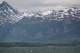 Lyngen_Alps_118_07042019 - Looking towards a pair of waterfalls on the west side of Storfjorden from the Lygnen Channel ferry