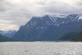 Lyngen_Alps_172_07042019 - Looking into the mouth of Kåfjorden on the ferry ride to Olderdalen
