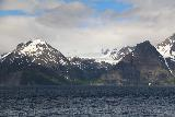 Lyngen_Alps_214_07042019 - Zoomed in look at one of many glaciers in the Lyngen Alps as seen from across the channel along the E6