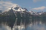 Lyngen_Alps_290_07072019 - Looking at the massif containing Vakkasjohka with the full context of its mountain