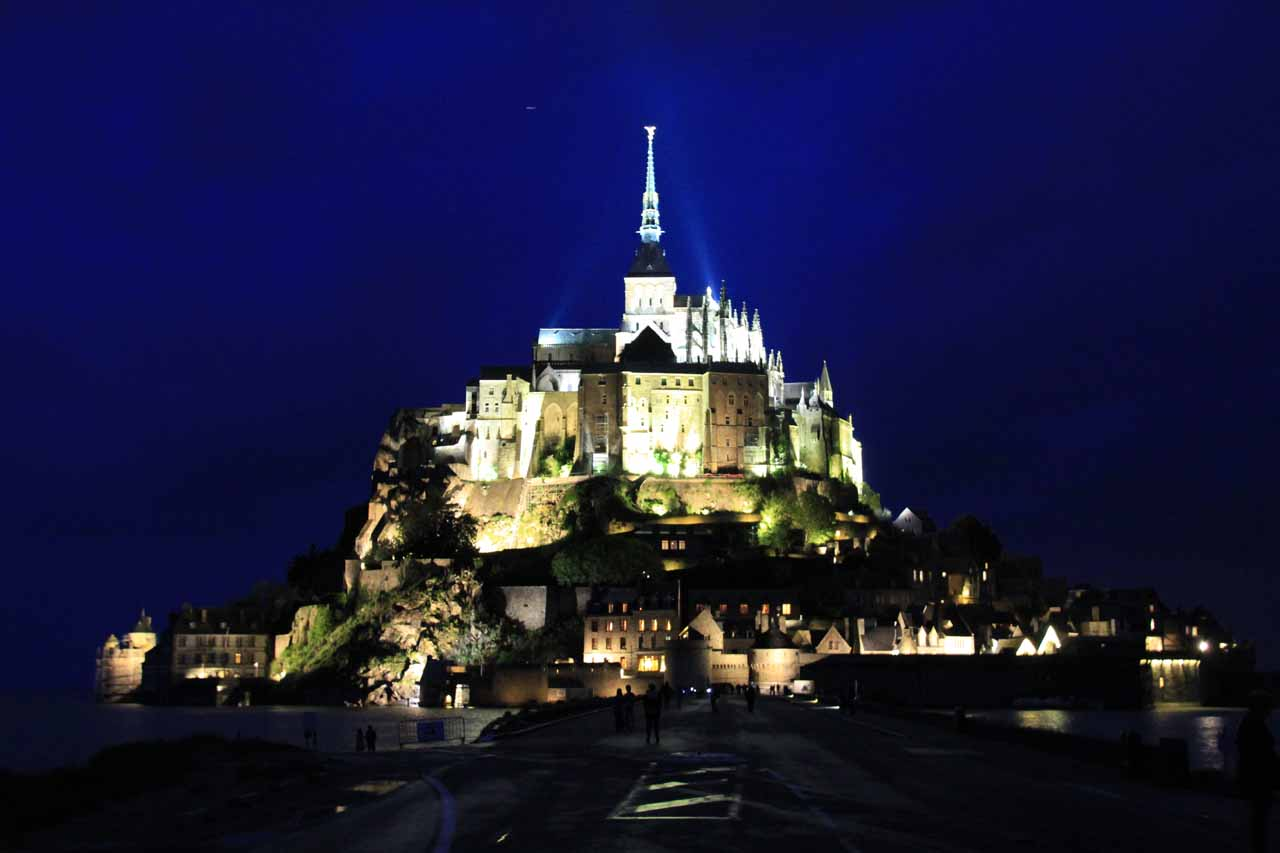 Le Mont-Saint-Michel in Normandie in the north of France was an example of a place where we knew we had to prioritize as something we had to see on our upcoming France trip