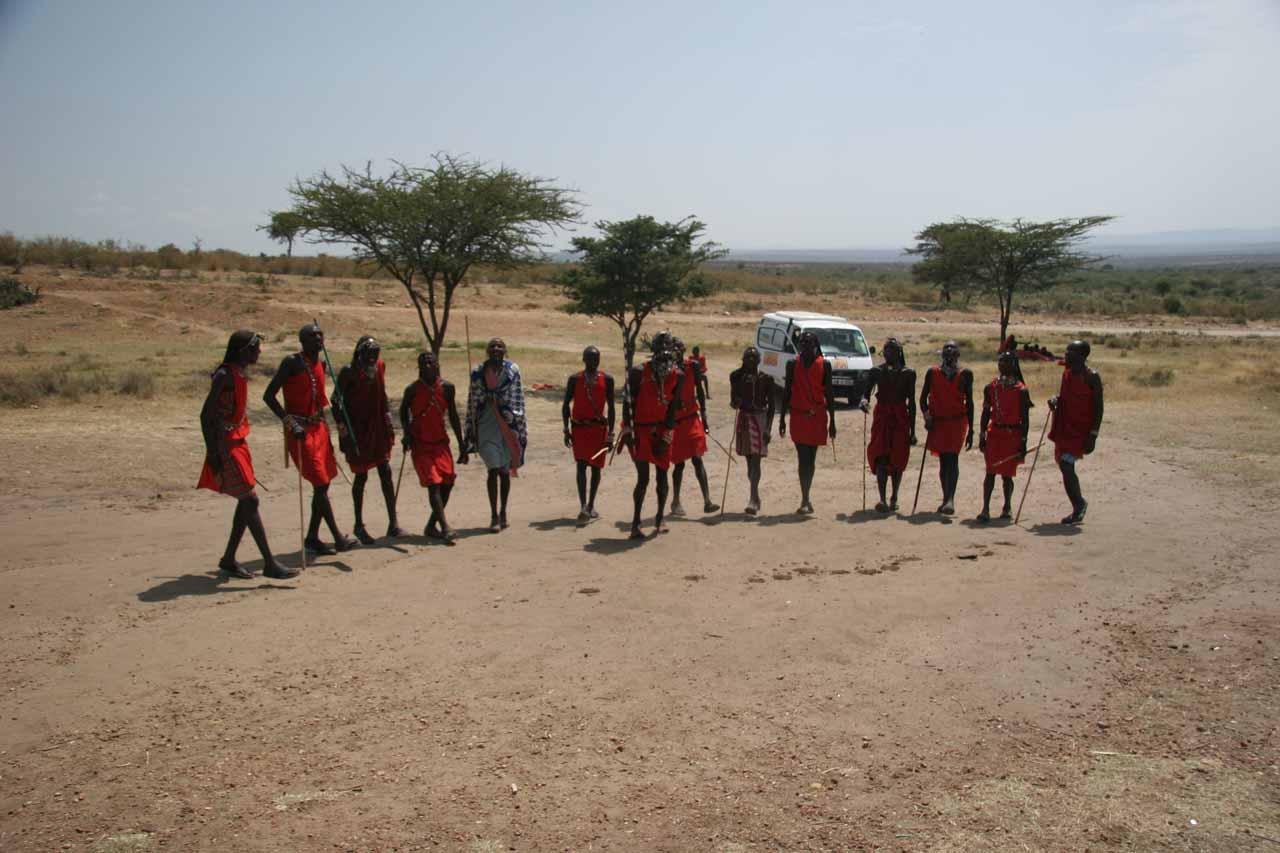 Full context of Maasai dance