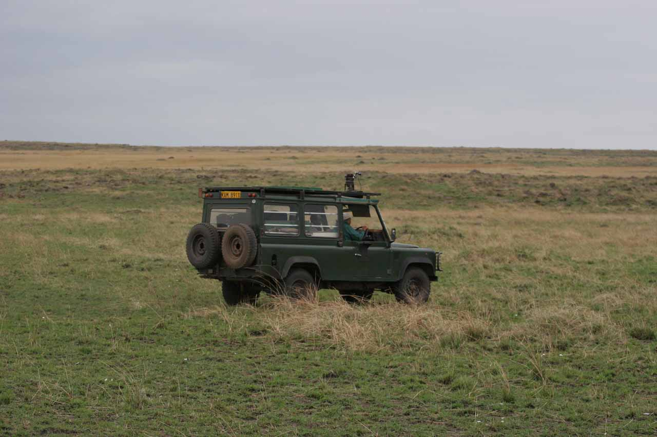 Blazing trails in the Maasai Mara