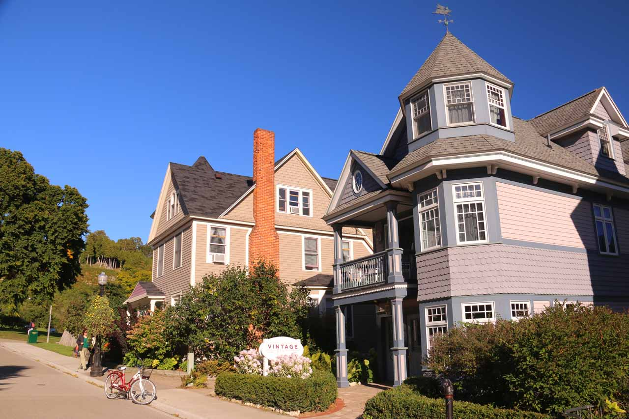 More looks at charming homes in downtown Mackinac Island