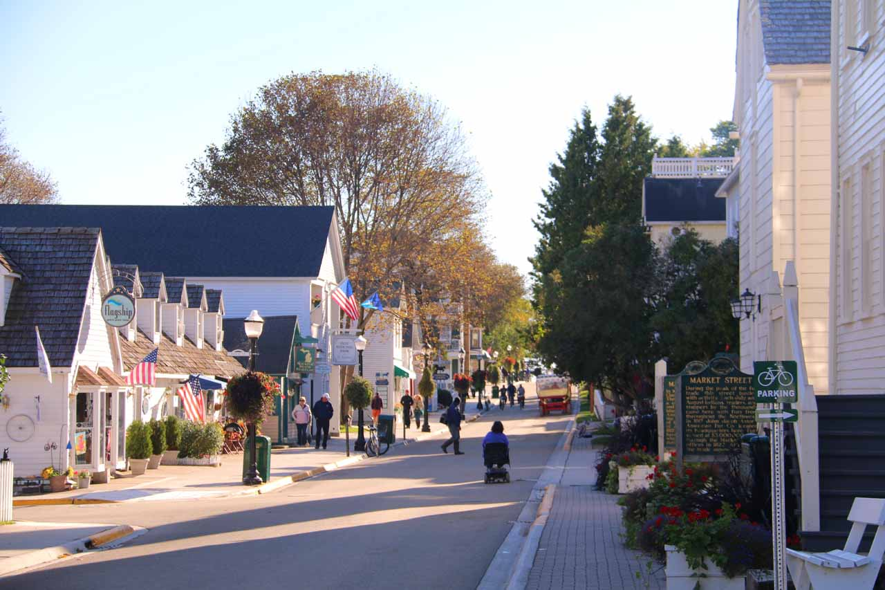 Another look at Market Street on Mackinac Island