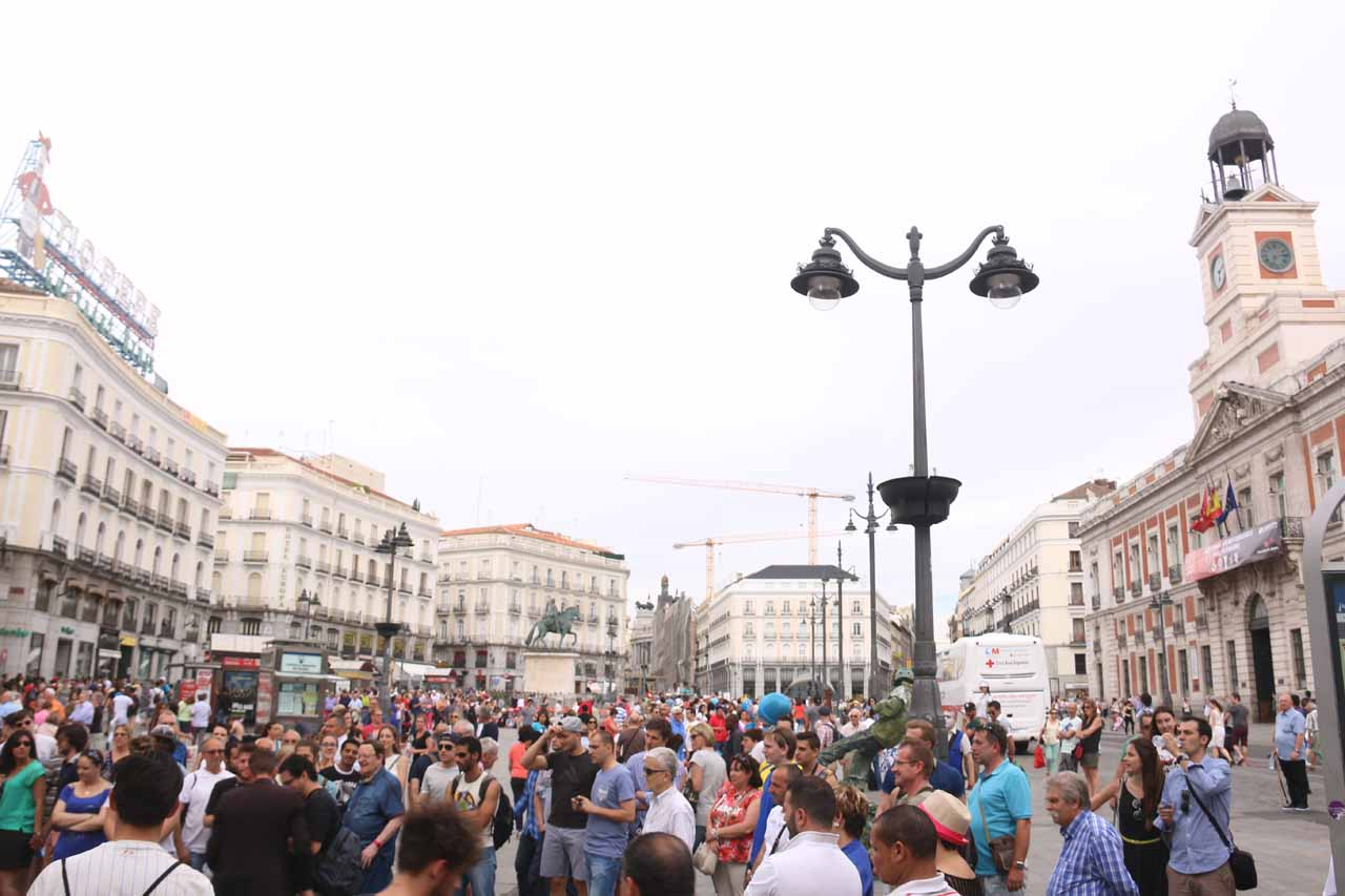 Puerta del Sol - the heart of Madrid