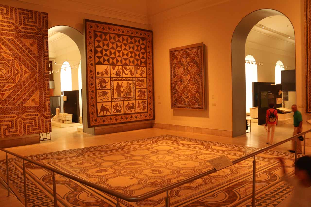Now checking out the elaborate decorations from the Muslim Spain era before the Reconquista