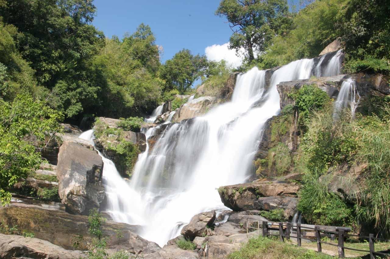 The Mae Klang Waterfall
