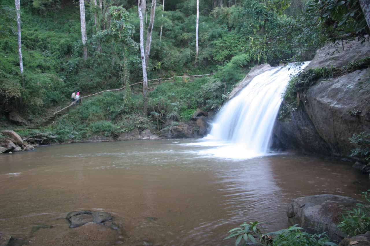 One of the Mae Sa Waterfalls