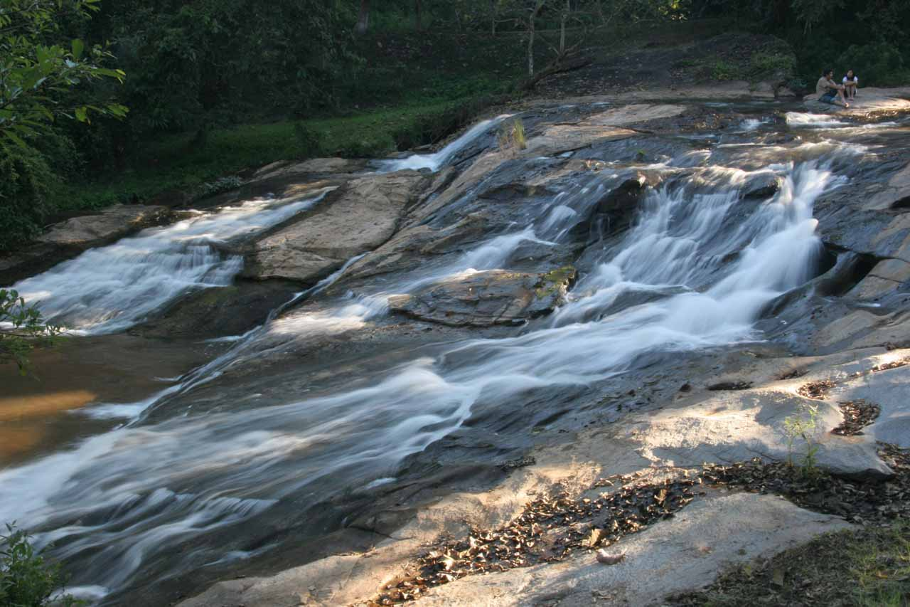 After visiting waterfalls 4-10, we backtracked to the first car park where we checked out the first waterfall