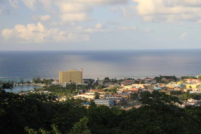 Mahoe_Falls_018_12262011 - View over Ocho Rios from the Coyaba Gardens