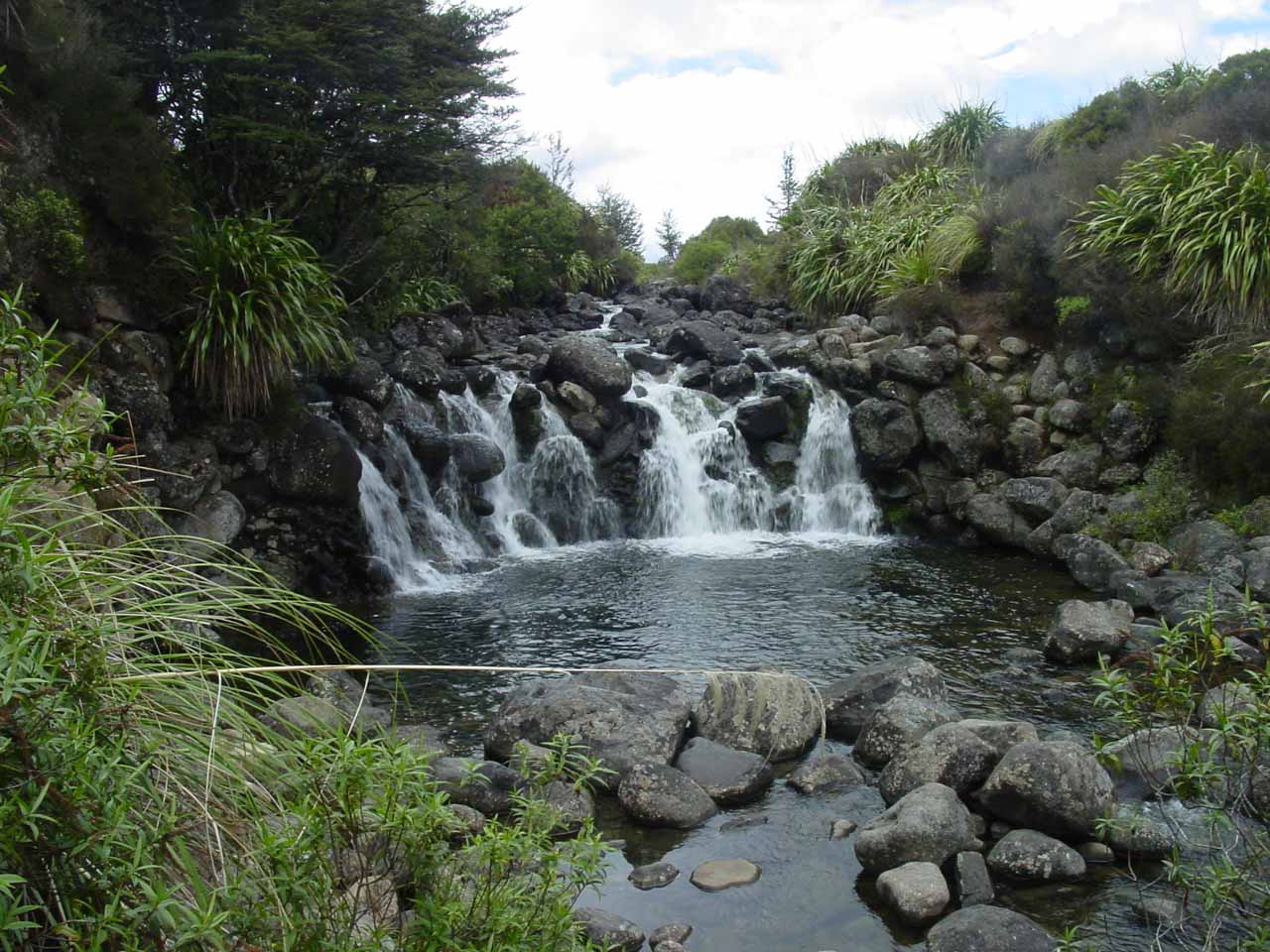 Some waterfalls that I think might be Mahuia Rapids