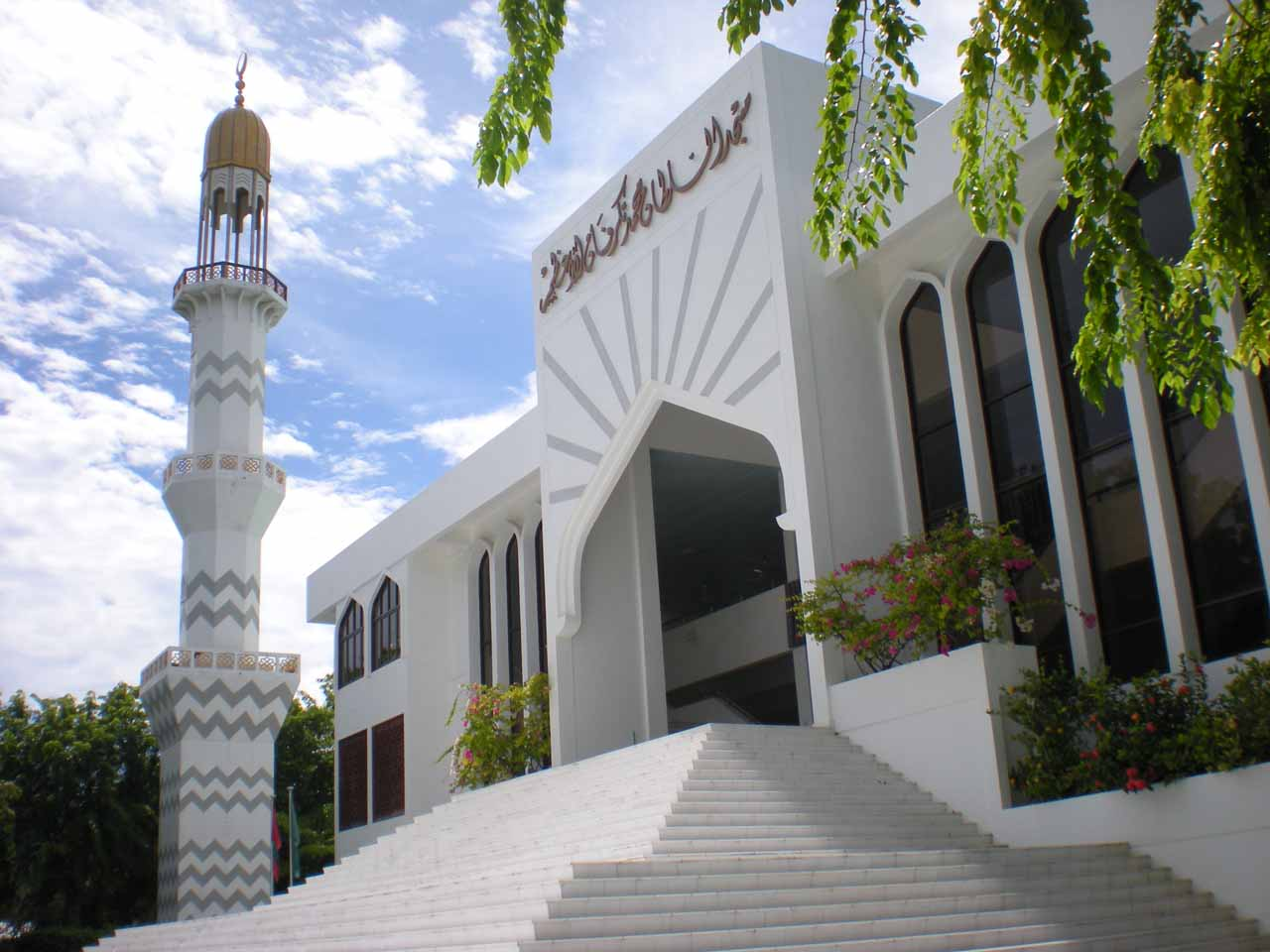 One of the Islam-influenced buildings we saw in Male