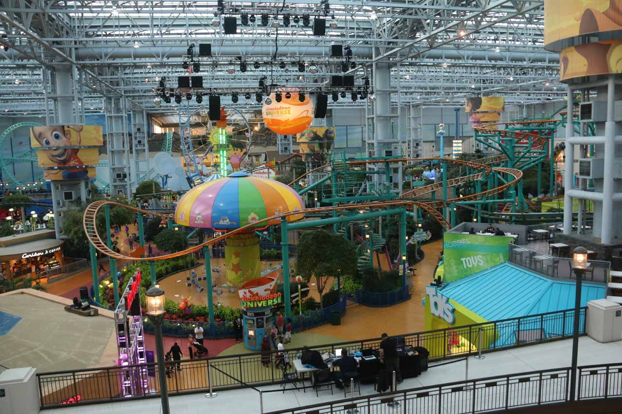 Roughly 40 minutes drive from Willow Falls was the incredible Mall of America, which was perhaps the highlight of the trip according to our daughter given its extensive indoor amusement park