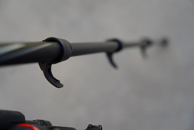 Closer look at the lever lock on my Manfrotto BeFree 3-Way Live Advanced Tripod