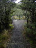 Mangawhero_Falls_021_11162004 - Approaching the fenced lookout for Mangawhero Falls