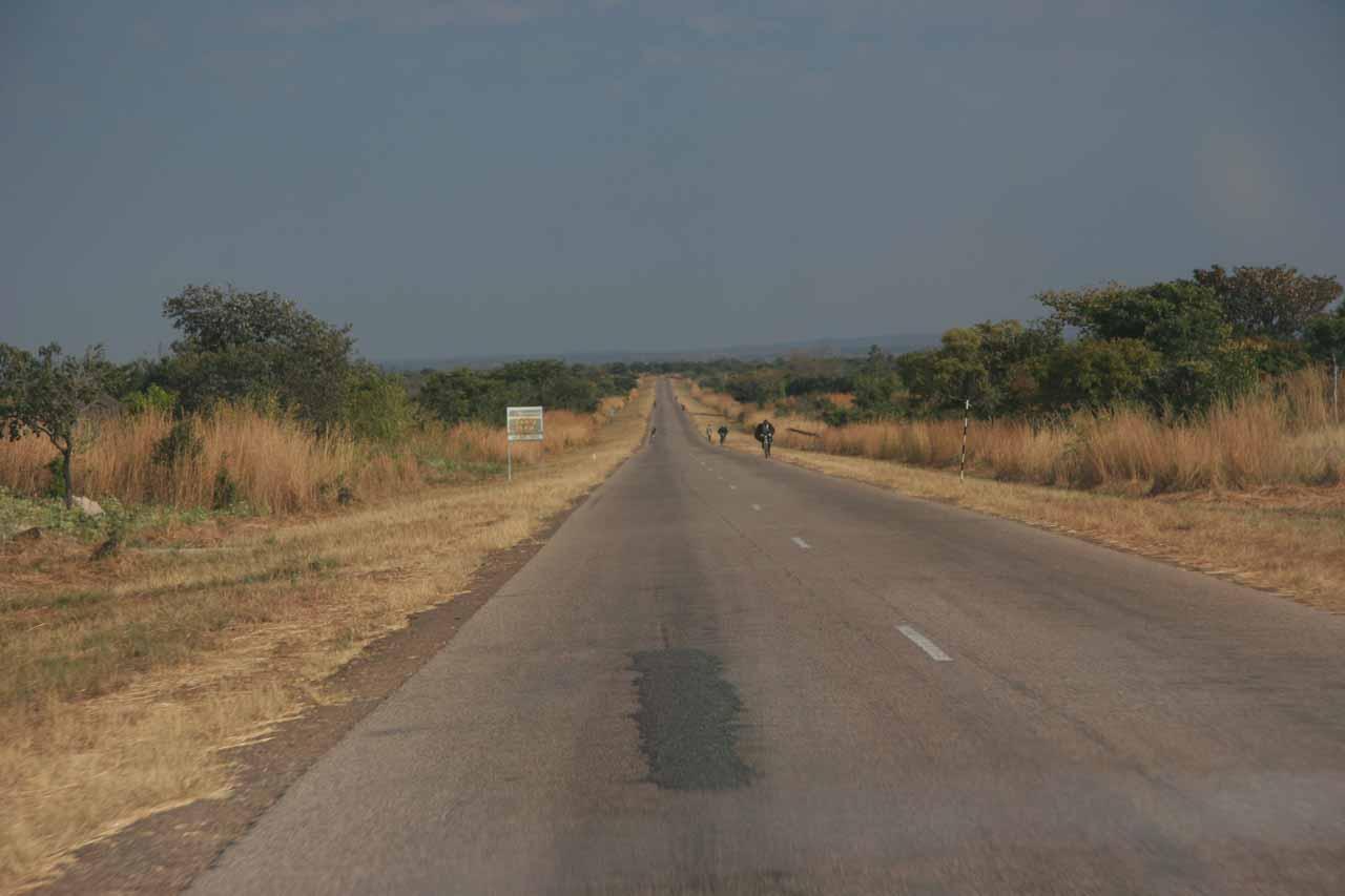 On the way to Mansa