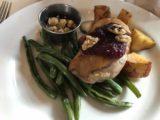 Many_Glacier_Hotel_007_iPhone_08072017 - Duck breast dish at the Many Glacier Hotel