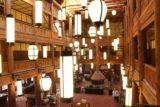 Many_Glacier_Hotel_059_08072017 - The lobby area of the Many Glacier Hotel