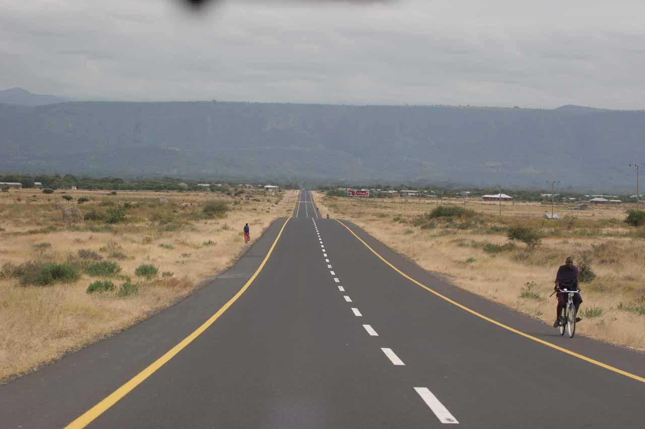 Headed to Lake Manyara