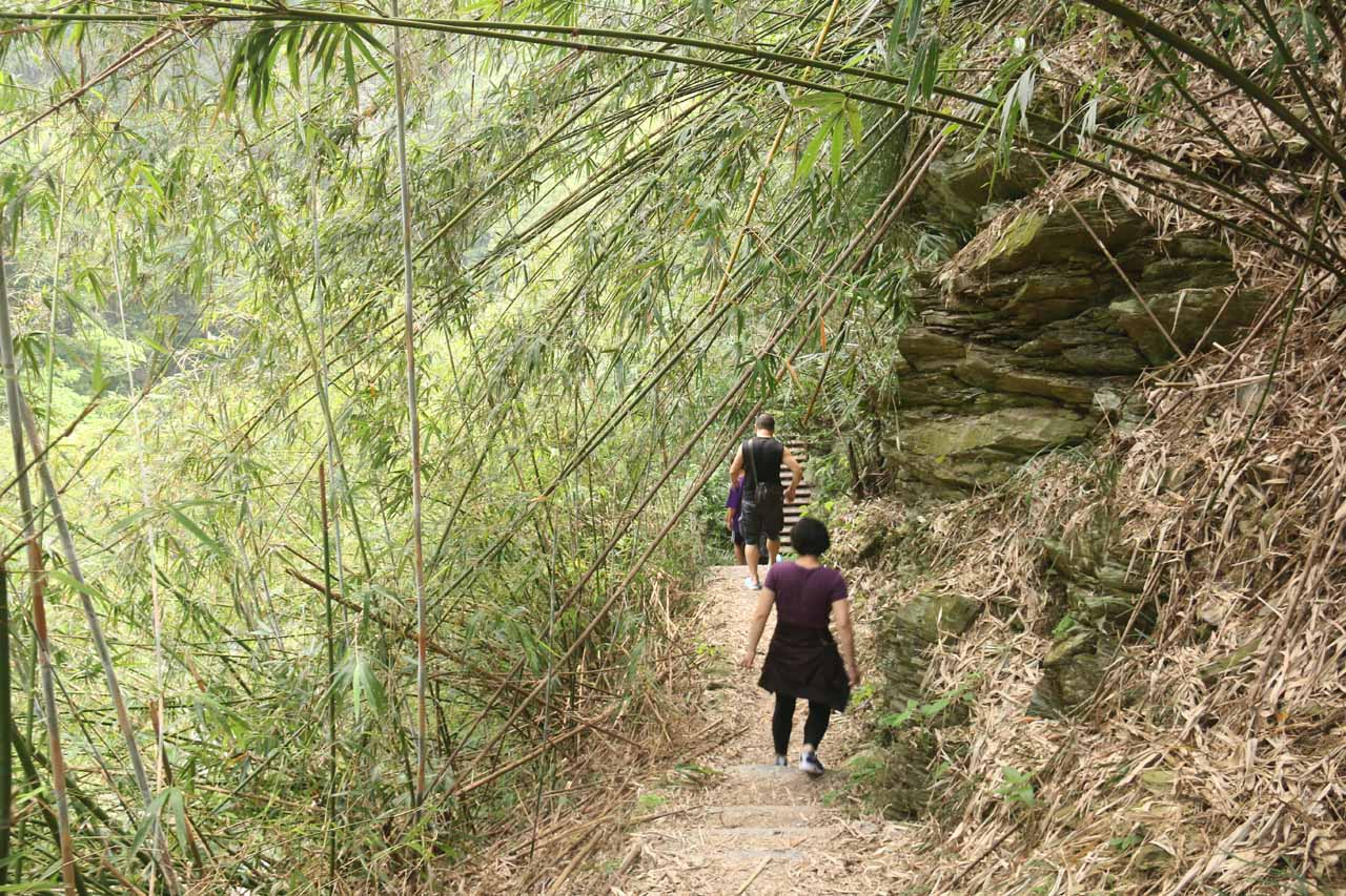 The Luomusi Trail was very popular