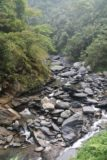 Maolin_Valey_Waterfall_050_10292016 - Looking upstream at the rocky streambed from the second suspension bridge