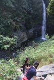 Maolin_Valey_Waterfall_072_10292016 - Following these girls down the steep descent to the plunge pool at the bottom of the cliff